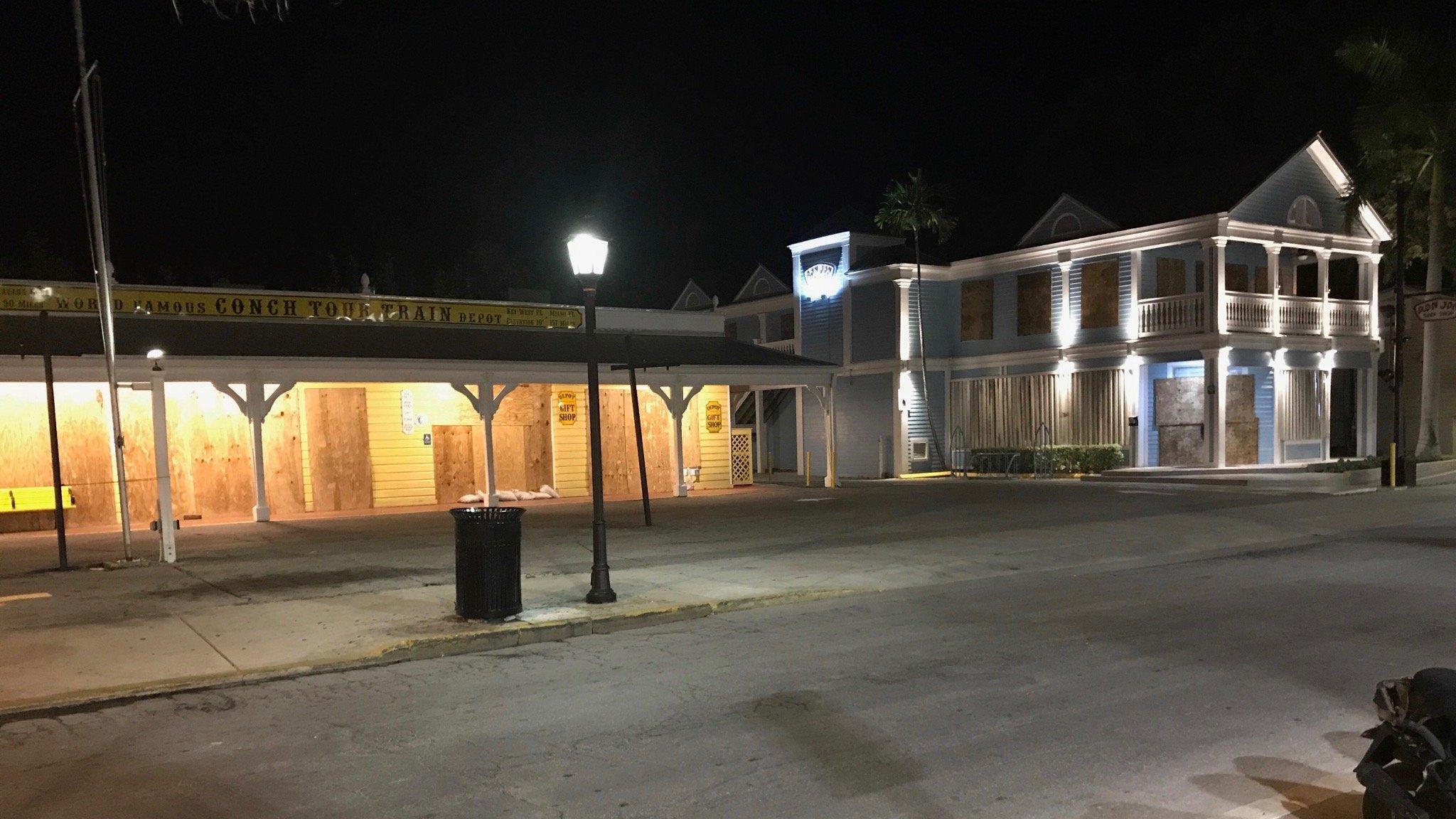 Old Town Key West before Hurricane Irma